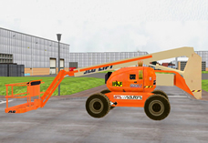 IPAF Mobile elevated platform simulator: 3D view